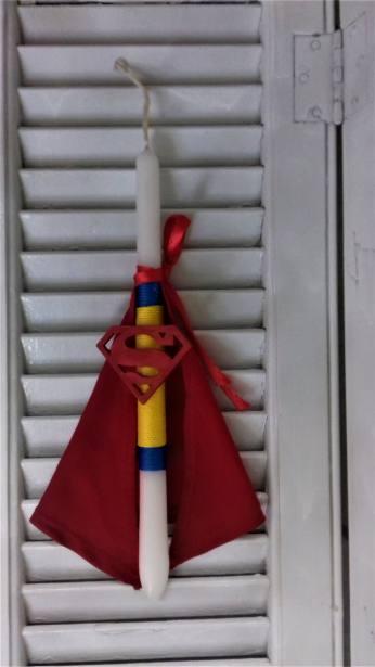ΛΑΜΠΑΔΑ SUPERMAN